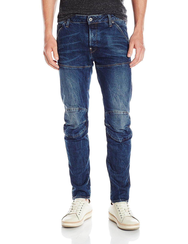 TALLA 29W / 30L. G-STAR RAW 5620 Elwood 3D Slim Jeans para Hombre