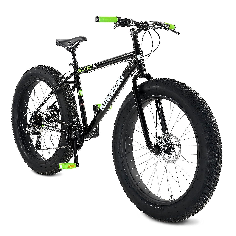 Com Kawasaki Sumo Fat Tire Bike 26 X 4 Inch Wheels 18 5 Frame Uni Sports Outdoors