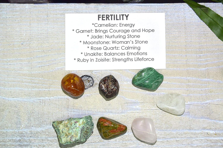 Adjustable Size Natural Stone Fertility Lotus Flower Necklace: Carnelian Rose Quartz Garnet Genuine Gemstone Healing Crystal
