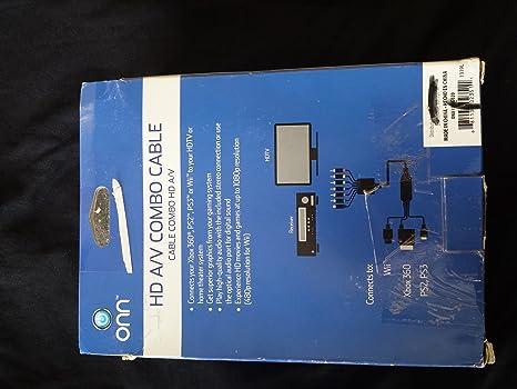 ONN Universal HD//AV Combo Cable