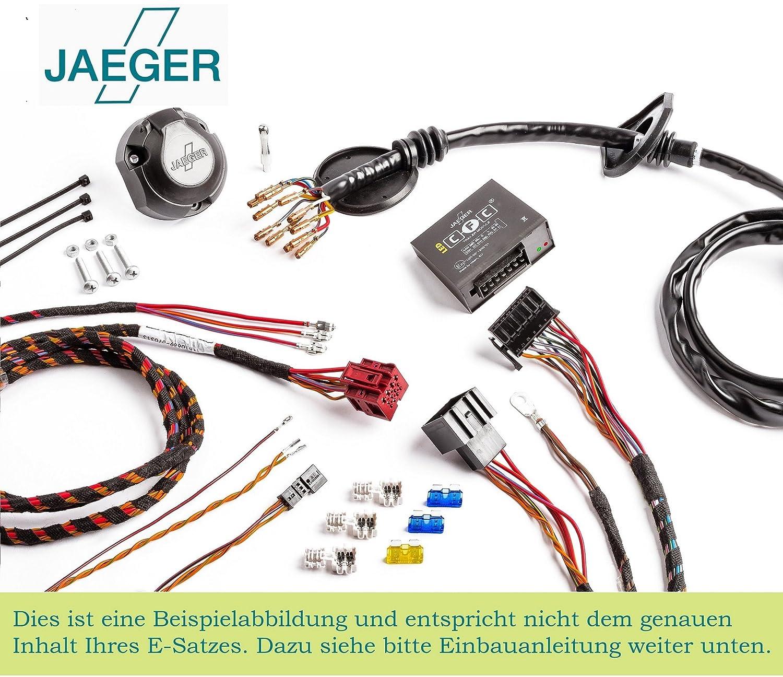 13 Pin Specific Towbar Wiring Kit for Vauxhall (Opel) Vivaro B 2014 + 21500610ZM1 Jaeger