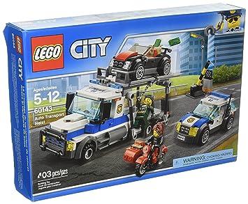 Transporteur De City Du Lego Voitures 60143 Le Braquage ZTlwOiPkuX