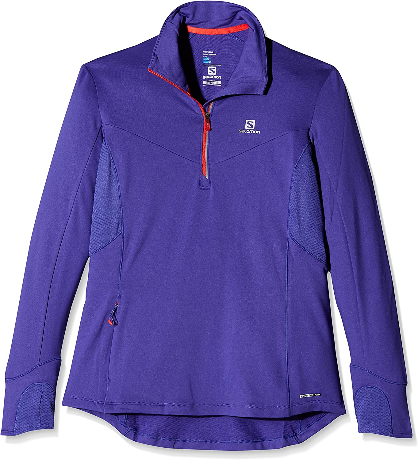 SALOMON Trail Runner Warm Mid W Camiseta de Manga Larga, Mujer: Amazon.es: Ropa y accesorios