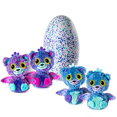 Hatchimals Surprise - Peacat - Hatching Egg with Surprise Twin Interactive Creatures by Spin Master, Ages 5 & Up: Spin Master: Toys & Games