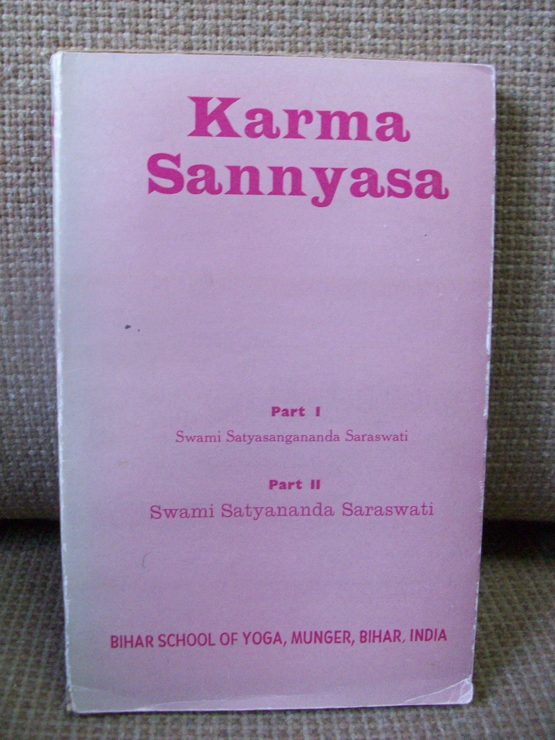 Karma Sannyasa: Swami Satyasangananda Saraswati: Amazon.com ...
