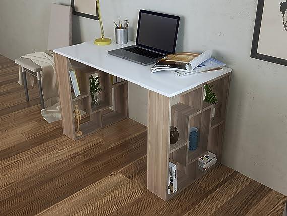 Tavolo Ufficio Bianco : Hidden scrivania avola bianco scrivania per computer