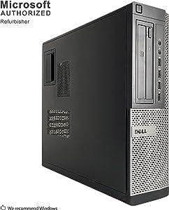 Desktop PC Computer Compatible with Dell OptiPlex 990, Intel Quad Core i5 3.1-GHz, 16GB RAM, 1TB Hard Drive, DVD-RW, USB WiFi Adapter, Windows 10 Professional (Renewed)