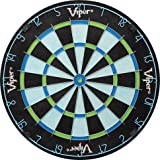 Viper Chroma Sisal/Bristle Steel Tip Dartboard with Staple-Free Bullseye
