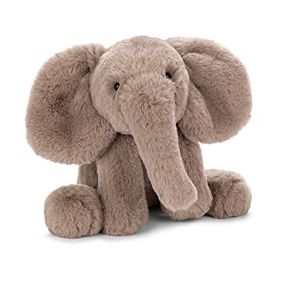 Jellycat Smudge Elephant Stuffed Animal, Medium, 13 inches: Toys & Games