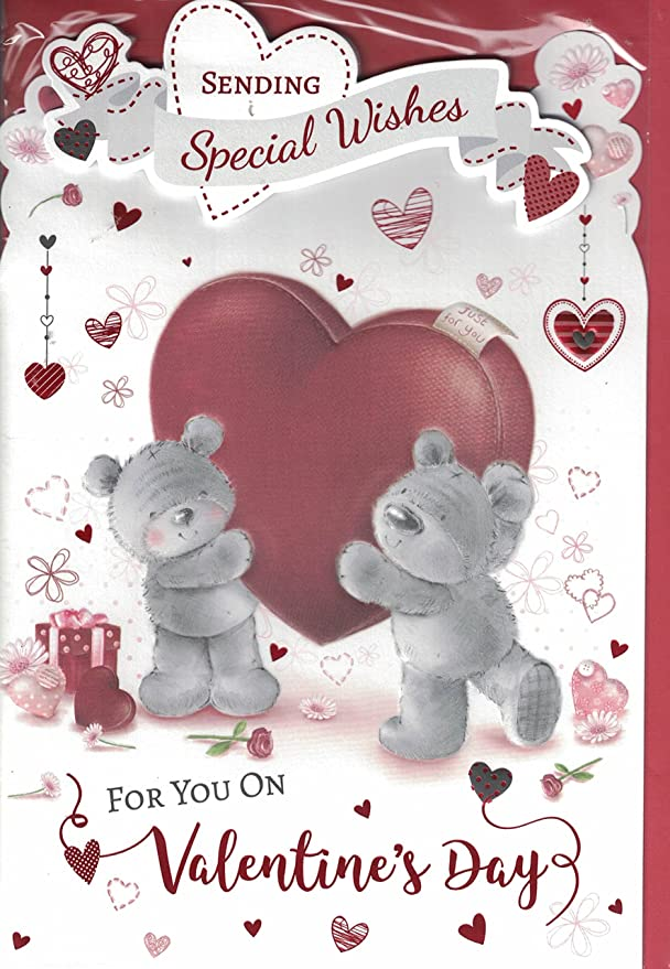 Valentines Day Card Especially For You On Valentine S Day Big Hugs