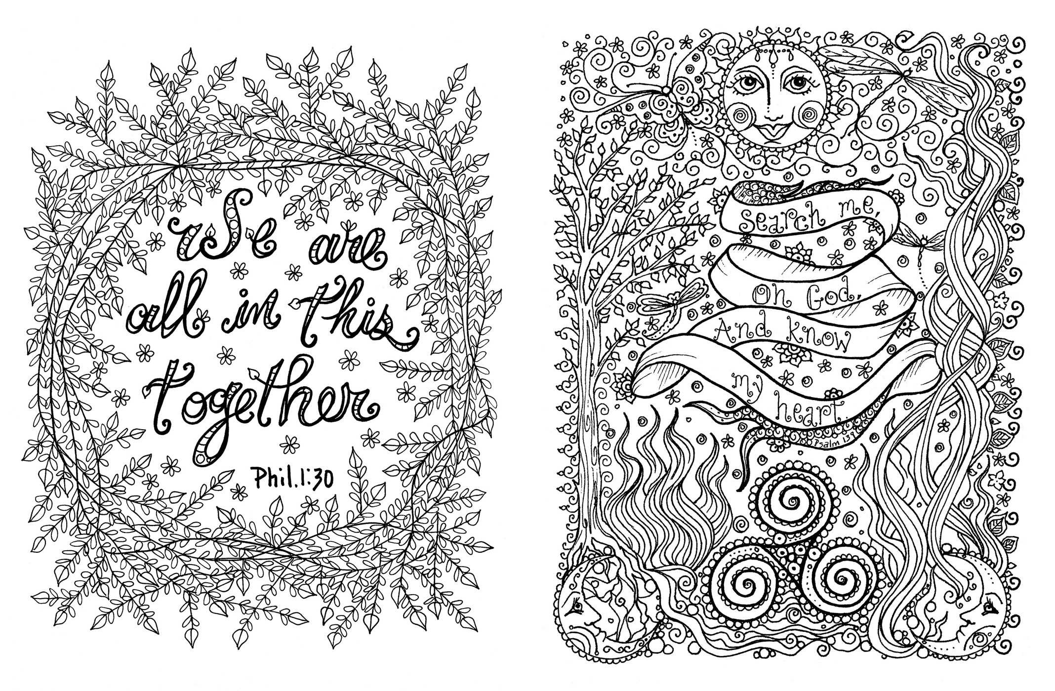 Amazon.com: Posh Adult Coloring Book: Prayers for Inspiration ...