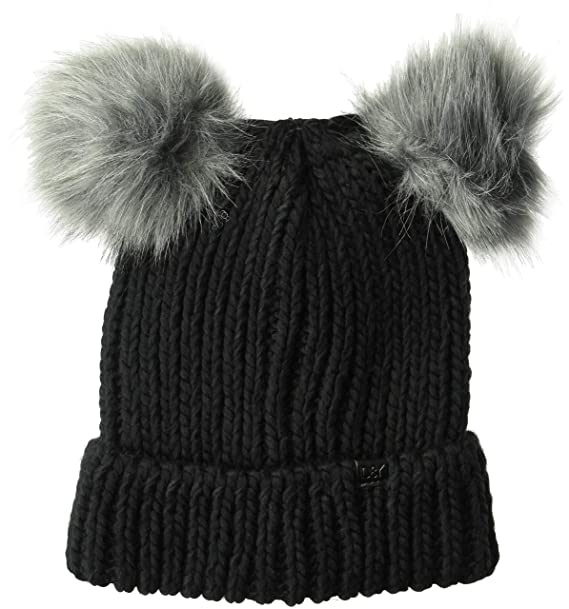 01390bc27 D&Y Women's David & Young Double Pom Beanie with Cuff