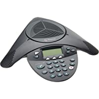 Polycom SoundStation2 Expandable Conference Phone (2200-16200-001) (Renewed)