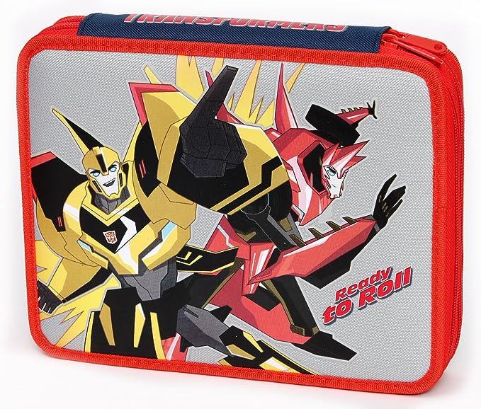 Giochi Preziosi - Transformers Case Maxi con Colores, marcadores y Accesorios Escuela: Amazon.es: Juguetes y juegos