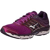 Mizuno Australia Women's Wave Paradox 5 Running Shoes, Purple Wine/Silver/Mysterioso