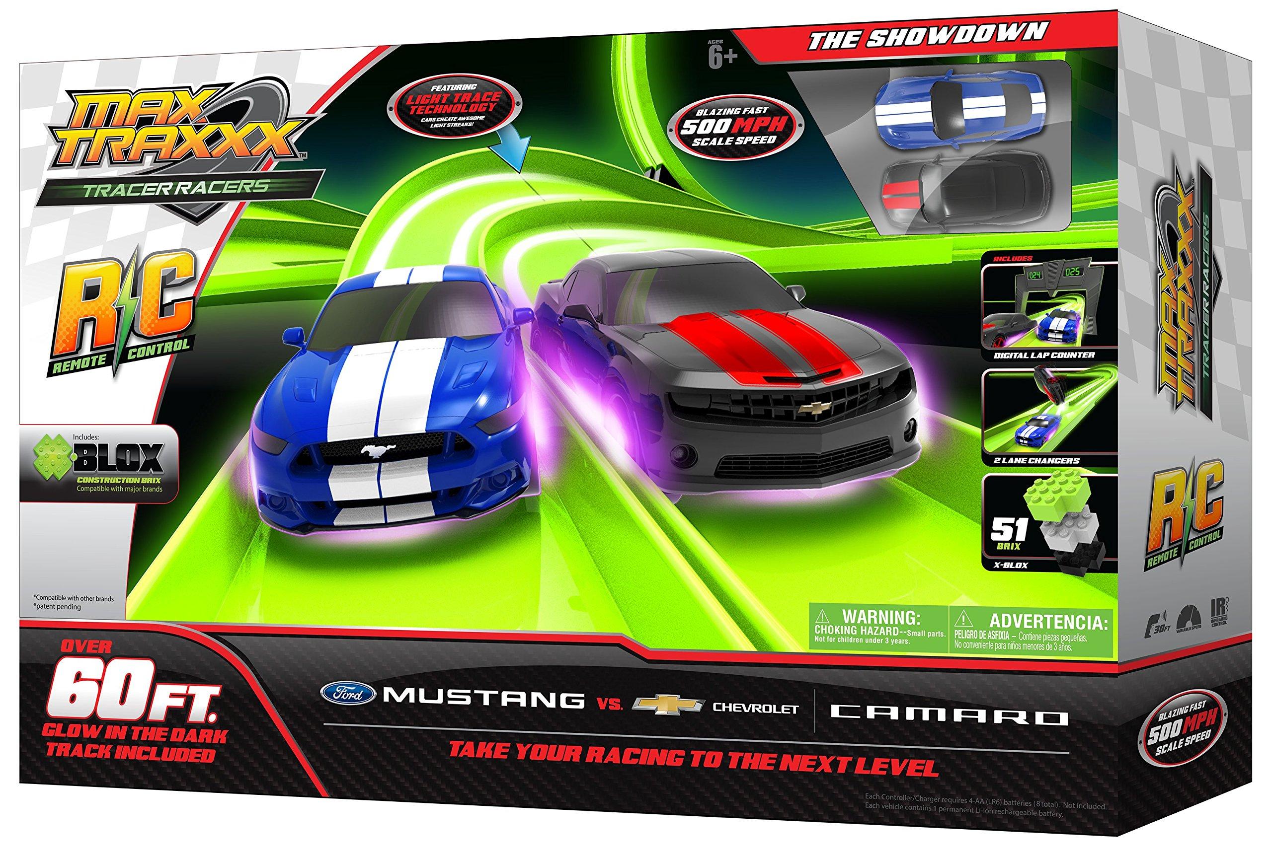 Max Traxxx Tracer Racer RC The Showdown Set