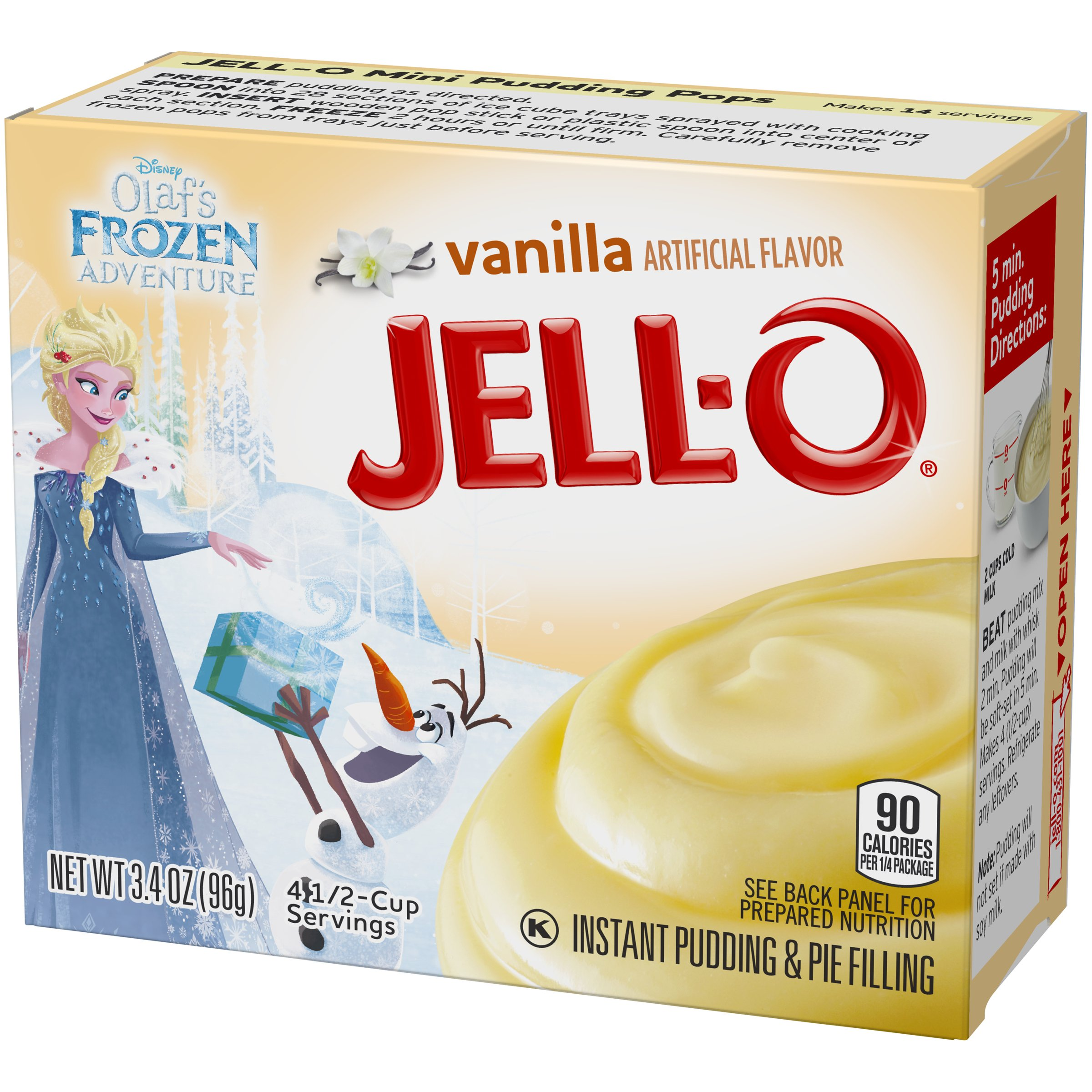 Jell-O Instant Vanilla Pudding & Pie Filling, 3.4 oz Box by Jell-O (Image #7)
