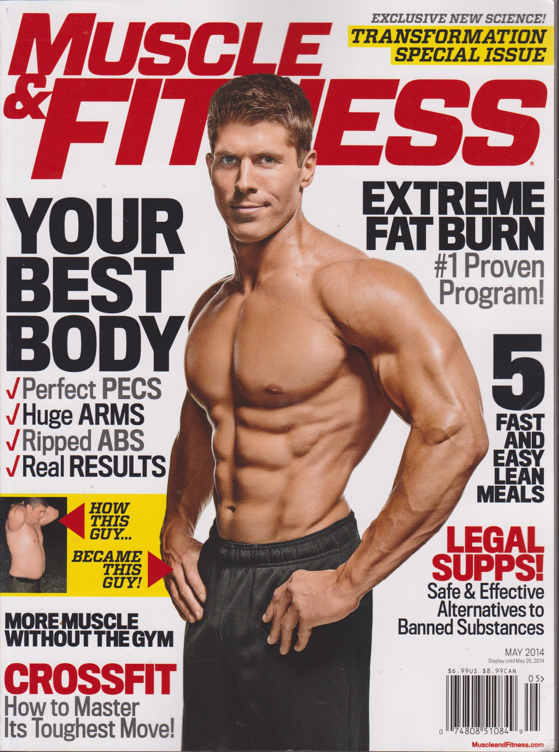 Download Muscle & Fitness Magazine May 2014 PDF