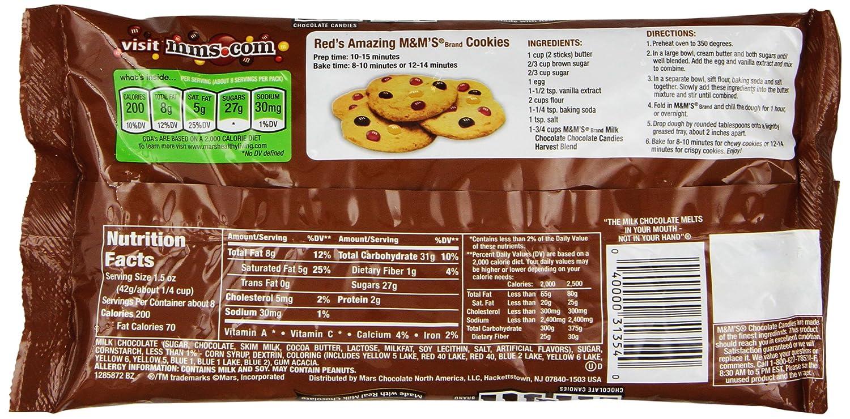 Amazon.com : M&M's Halloween Milk Chocolate Candy, 12.60-Ounce ...