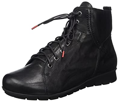 Womens Menscha Ankle Boots, Black Think