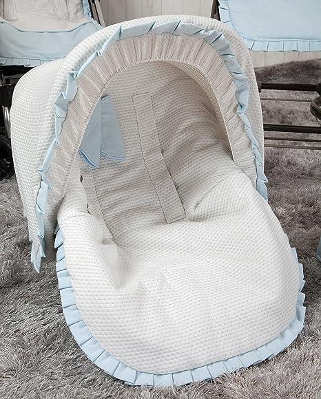 Babyline Destellos - Colchoneta para silla grupo 0, color azul ...