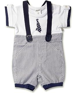 56-74 Taufkleidung Overall mit Fliege dunkelblau Jacky Baby Jungen Taufanzug Gr
