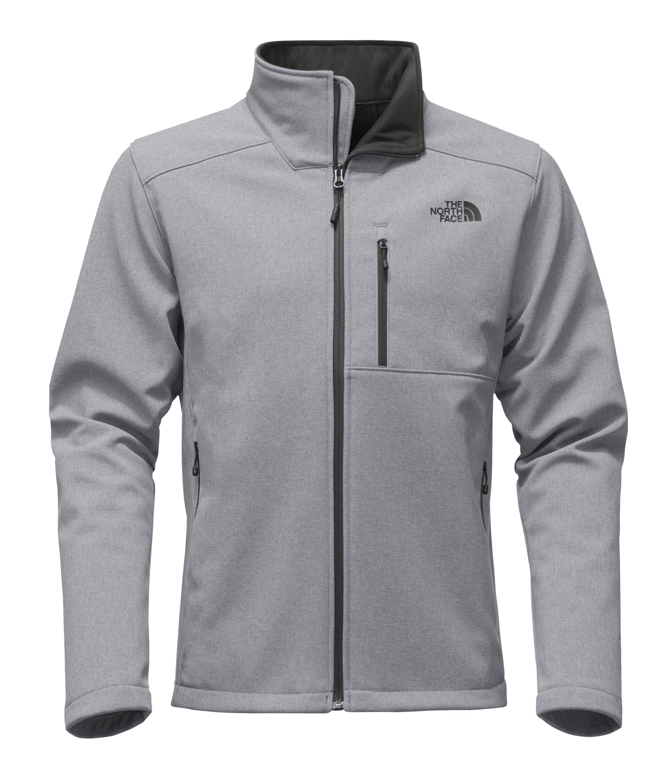02ff0594d The North Face Men's Apex Bionic 2 Jacket - TNF Mid Grey Heather & TNF Mid  Grey Heather - L
