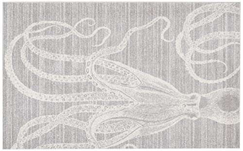 nuLOOM Thomas Paul Octopus Area Rug, 5 x 8 , Grey