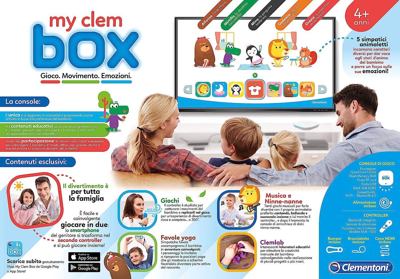 9a08e2ef9a0a Clementoni - 16609 - My Clembox  Amazon.it  Giochi e giocattoli