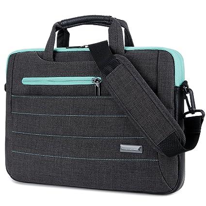 23ebf5e68d4e BRINCH 15-15.6 Inch Multi-Functional Suit Fabric Portable Laptop Sleeve  Case Shoulder Messenger Bag Briefcase for Laptop, Tablet, MacBook, Notebook  - ...