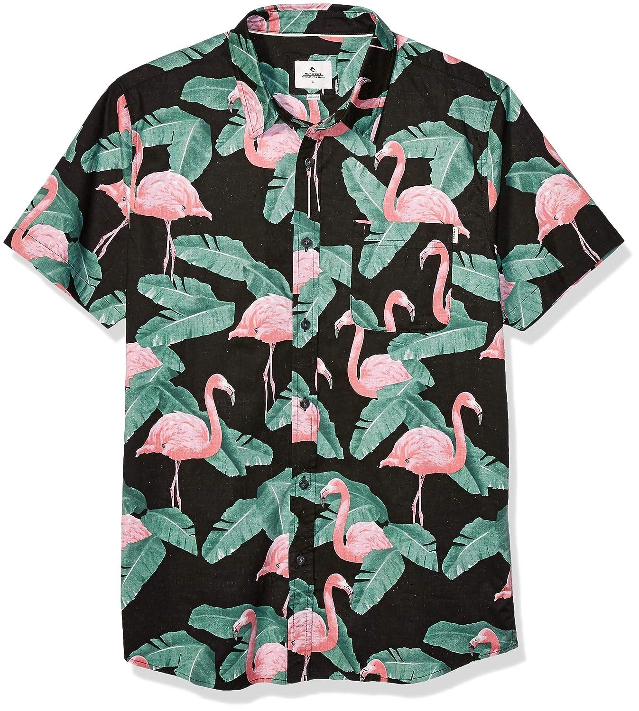 Rip Curl Mens Jungles Short Sleeve Shirt: Amazon.es: Ropa y ...