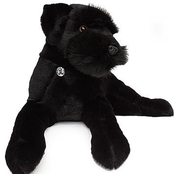 Schnauzer/Ruso Negro Terrier radja 65 cm Peluche perro Peluche de kuscheltiere. BIZ
