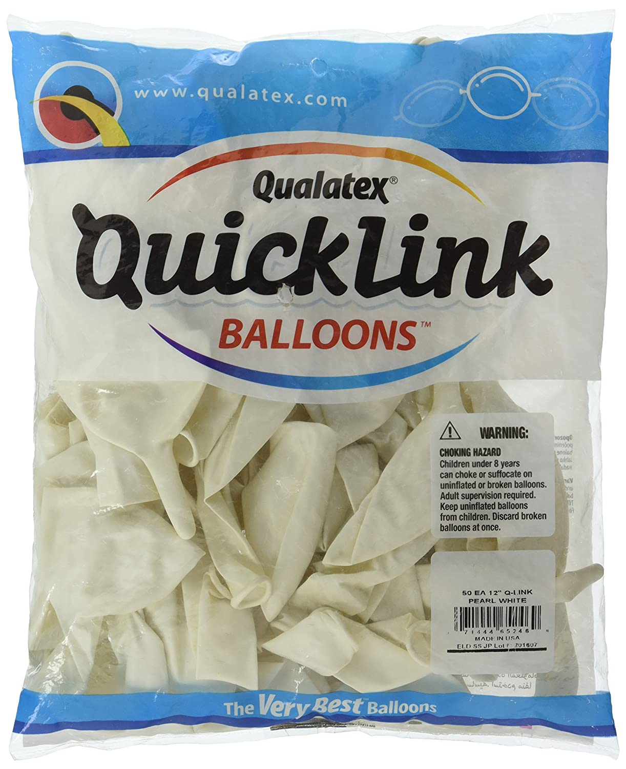 Pioneer Balloon 65246 QUICKLINK PEARL WHITE 12,