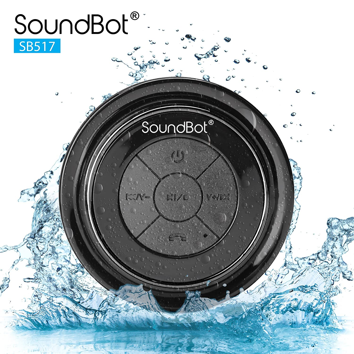 SoundBot SB510 HD Waterproof Speaker