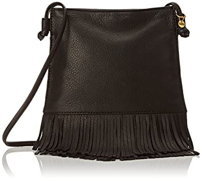 HOBO Super Soft Meadow Cross Body Bag, Black, One Size: Handbags ...