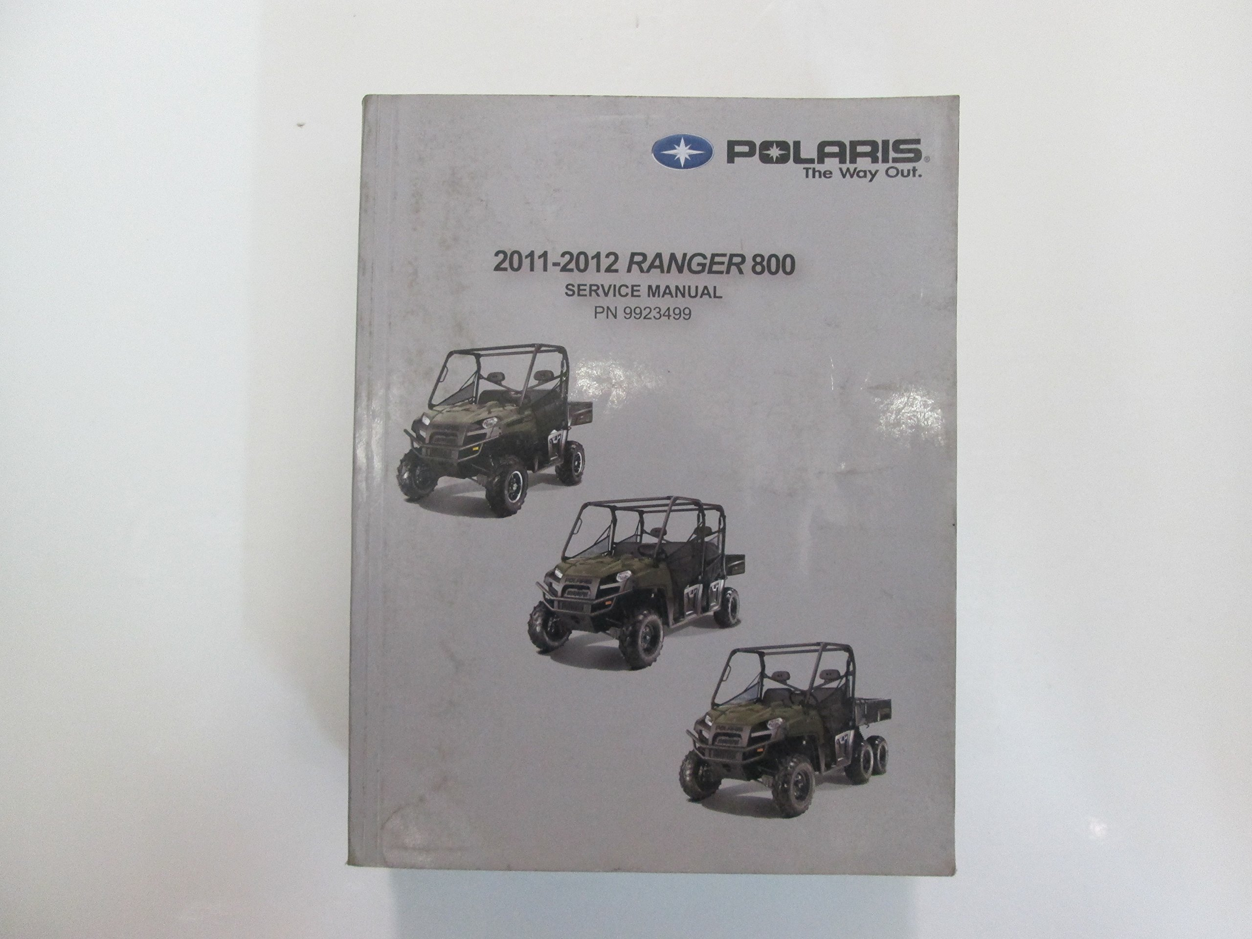 2011 2012 Polaris Ranger 800 Service Shop Manual STAINED WORN LOOSE PAGES  USED: Polaris: Amazon.com: Books