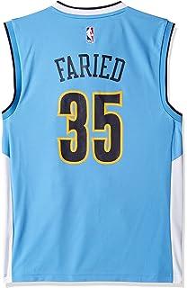 6d3e4b9bb8b NBA Denver Nuggets Kenneth Faried #35 Men's Road Replica Jersey, Small, ...