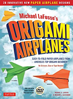 Michael LaFosses Origami Airplanes 28 Easy To Fold Paper From Americas Top