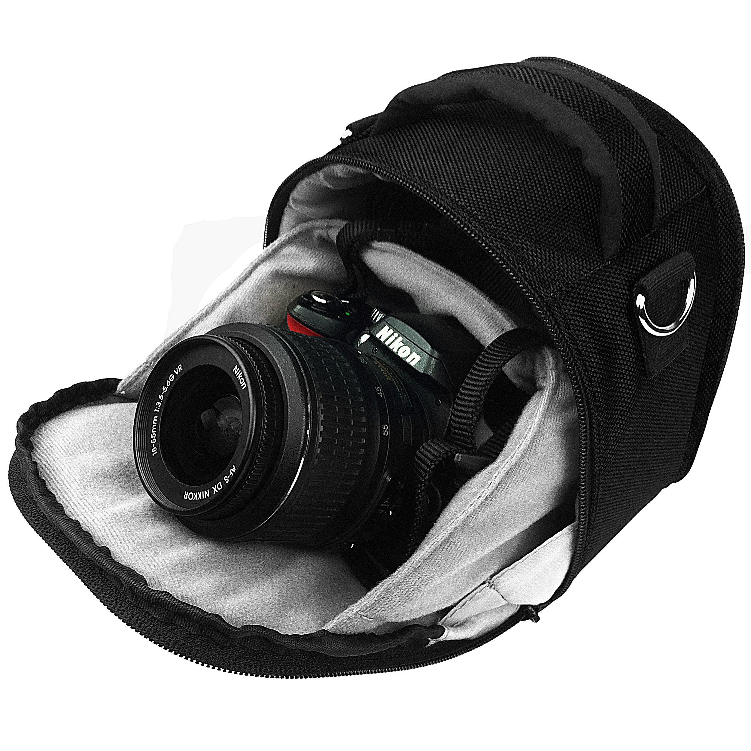 VanGoddy Laurel Carrying Handbag for Fujifilm FinePix S9800 Digital Camera by Vangoddy (Image #5)