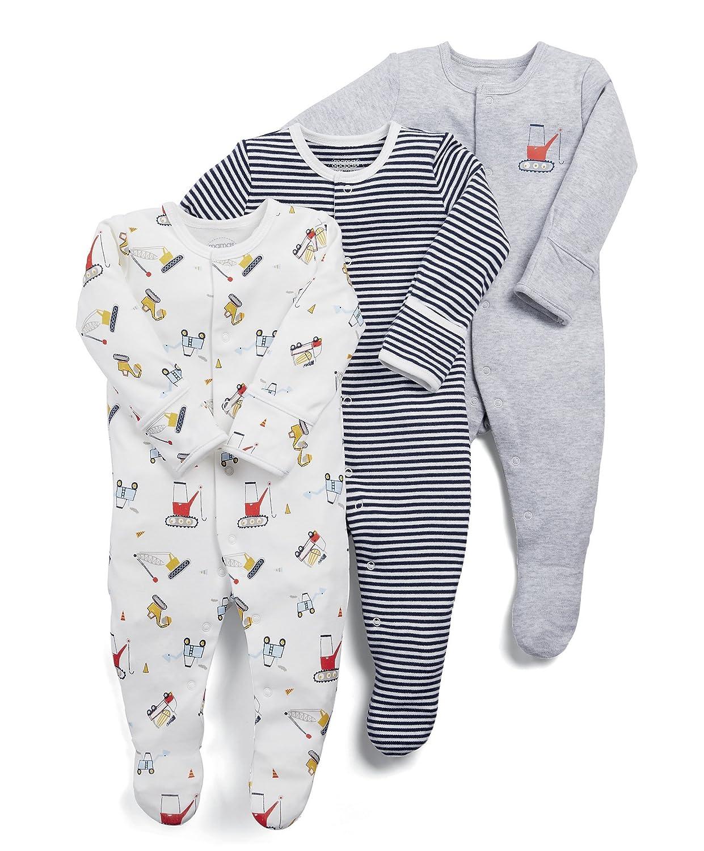 Mamas /& Papas Baby Boys Socks Pack of 3