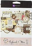 Prima Marketing 586973 Chipboard & More - Rossibelle