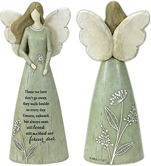 Abbey Gift Abbey Ca Gift 10 Those We Love Boxed Angel Figurine 10 X 10 X 1 Inches Multi Home Kitchen