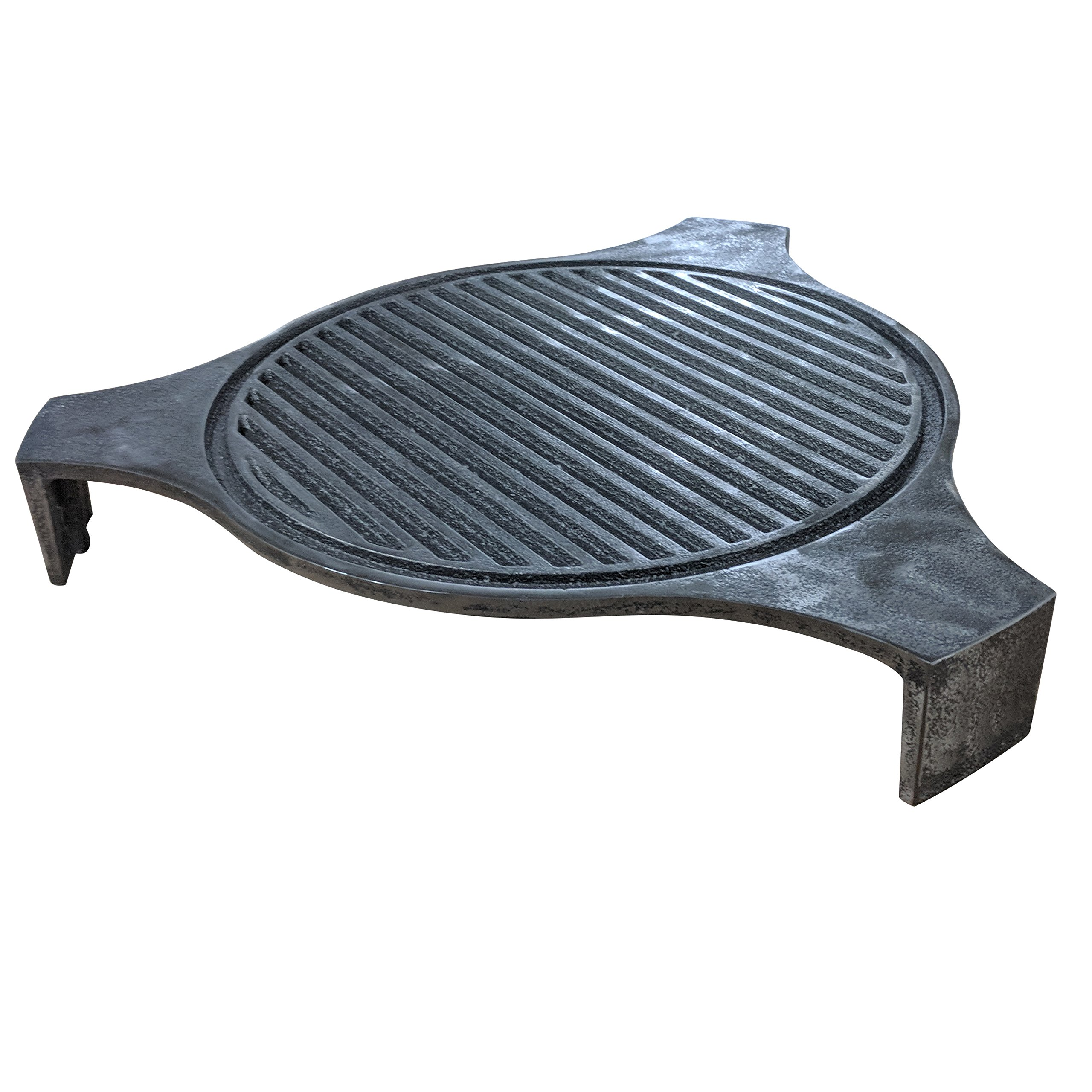 Titan 18'' Cast Iron Plate Setter | Fits Large BGE