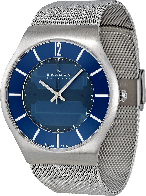 Skagen Men s 833XLSSN1 Denmark Blue Dial Watch