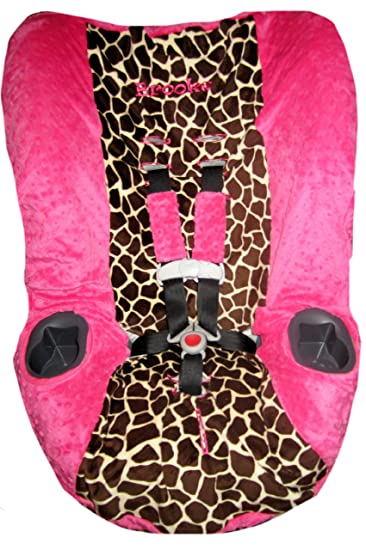 Outstanding Graco My Ride 65 Car Seat Cover Toddler Car Seat Cover Giraffe Minky Fuchsia Minky Dailytribune Chair Design For Home Dailytribuneorg