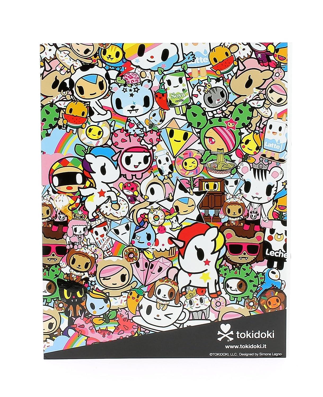 Tokidoki TOKI0225 - Archivador con anillas: Amazon.es: Oficina y papelería