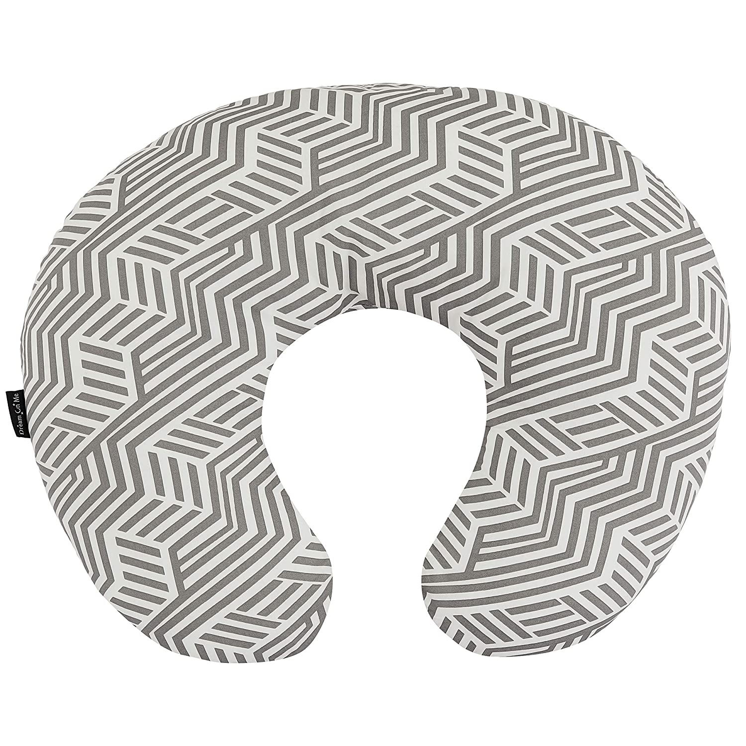 Dream On Me Beeboo Nursing Pillow & Positioner - Perfect for Breast Feeding & Comforting Baby, Black White