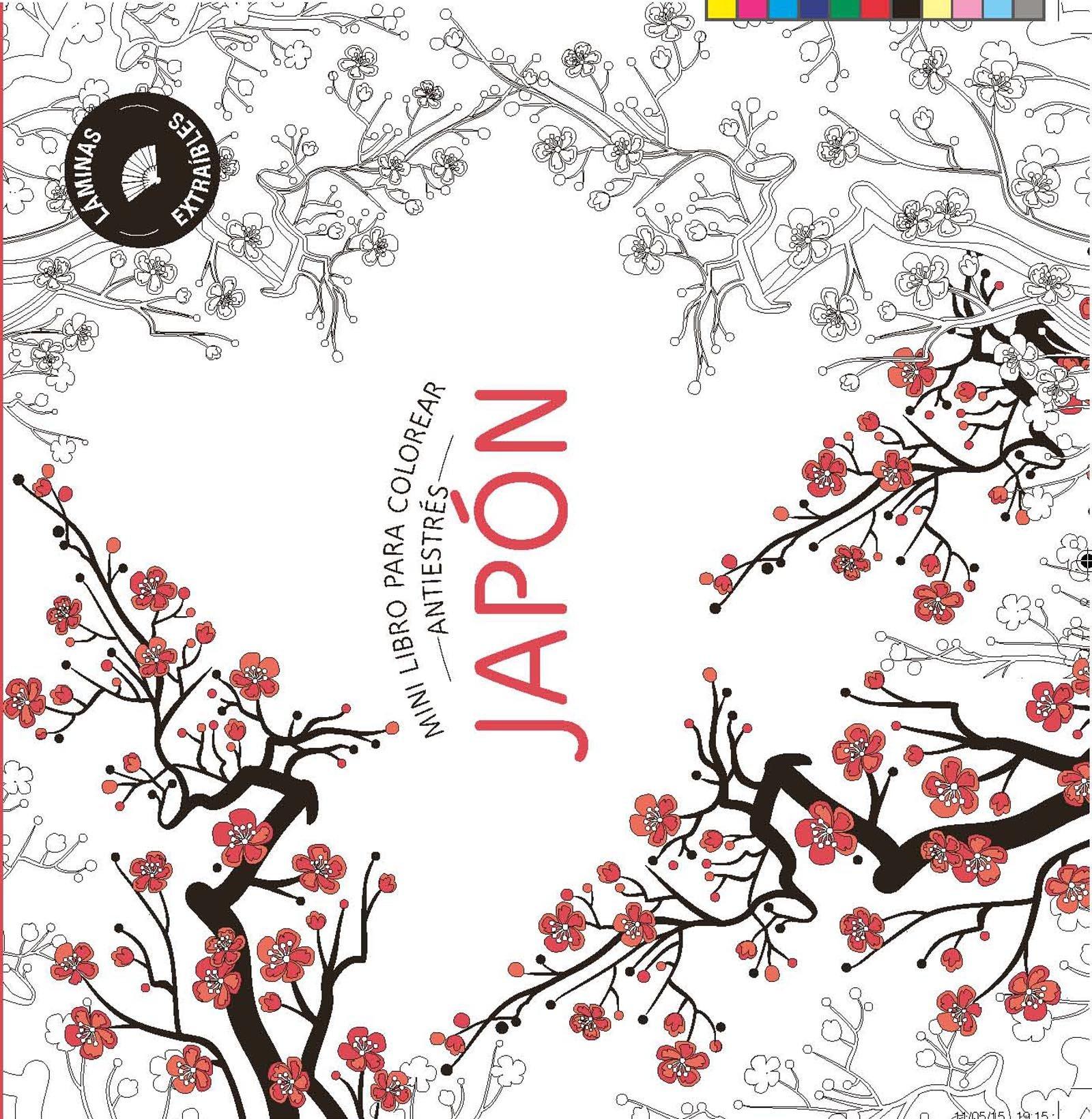 Japón. Mini libro para colorear (PRÁCTICA): Amazon.es: Redacción Marabout, Redacción Marabout: Libros