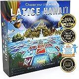 Latice Hawaii Strategy Board Game - The Multi-Award-Winning Smart New Family Board Game. Intelligent Fun for Creative People.