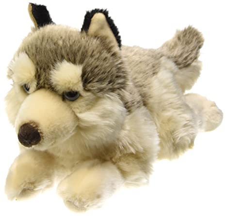 Lelly Lying Wolf Stuffed Toy, Small/40cm
